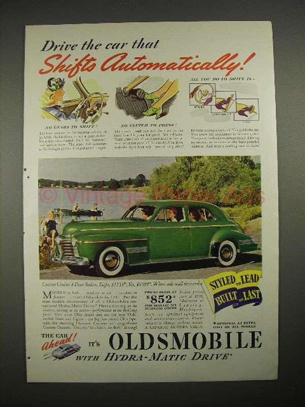 1940 oldsmobile custom cruiser 4 door sedan car ad for 1940 oldsmobile 4 door sedan