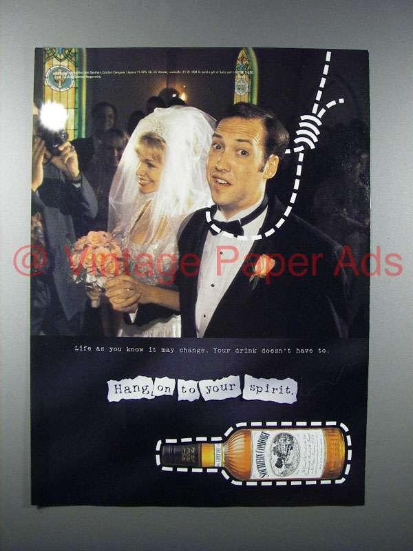 1998 southern comfort liquor ad hang on