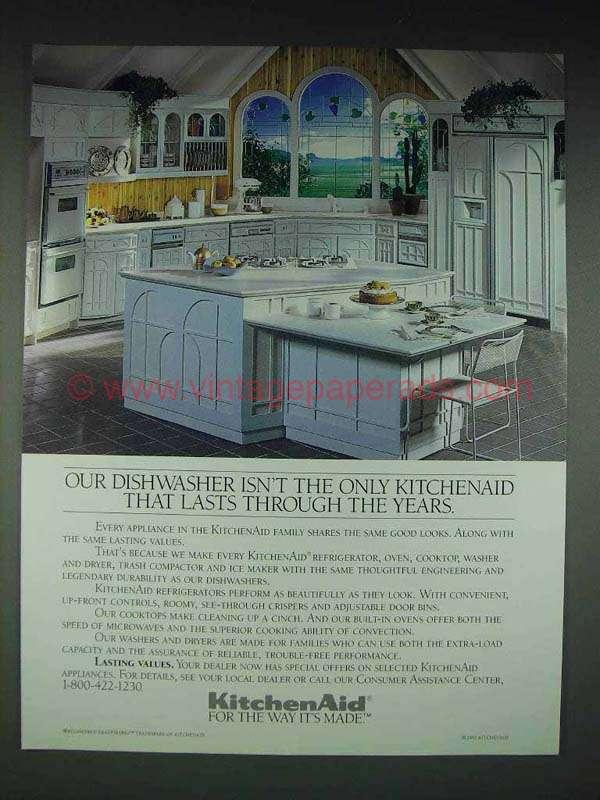 1991 Kitchenaid Appliances Ad Lasts Through Years