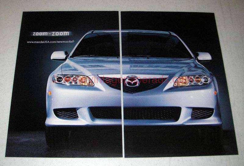 2003 Mazda 6 Car Ad