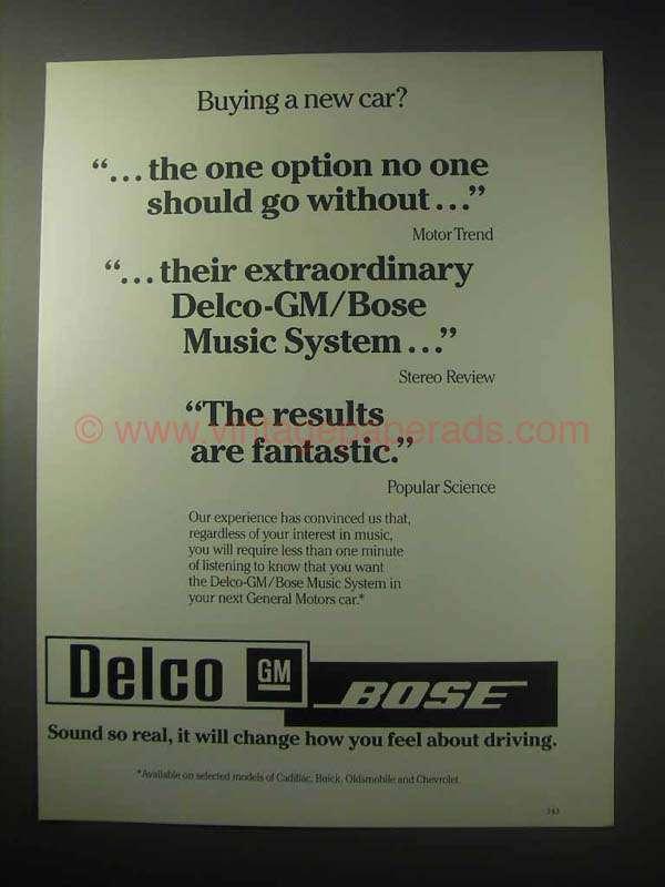 Bose Car Music System Price List