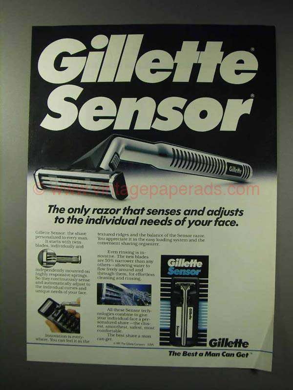 marketing objectives of gillette