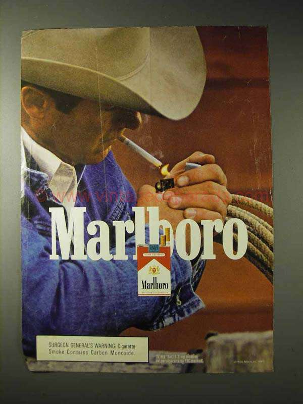 a history of the creation of marlboro advertisements
