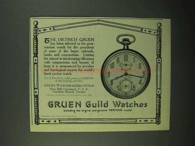 gruen guild watch