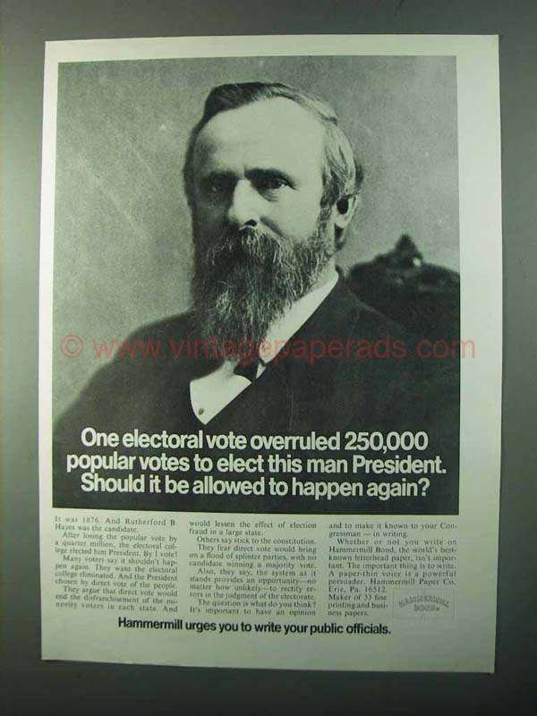 rutherford b. hayes essay Legacy and historical information for president rutherford b hayes on the  ncbla  in-depth essays created by the university of virginia on hayes' life and .