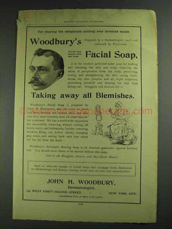 Woodbury facial soap opinion