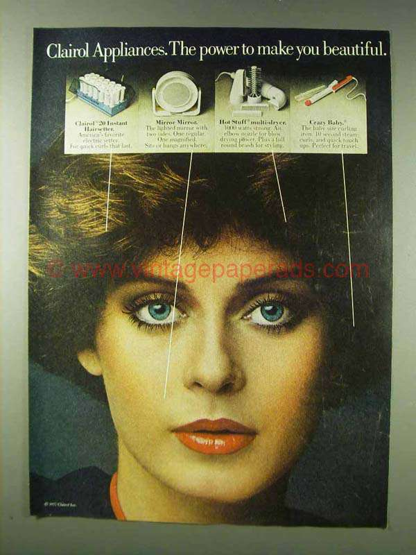 clairol 20 instant hairsetter instructions