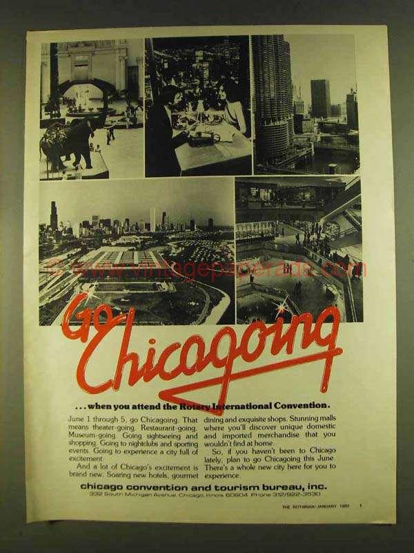 1980 chicago convention and tourism bureau ad. Black Bedroom Furniture Sets. Home Design Ideas