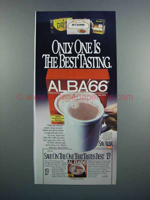 Alba Hot Chocolate Drink Mix