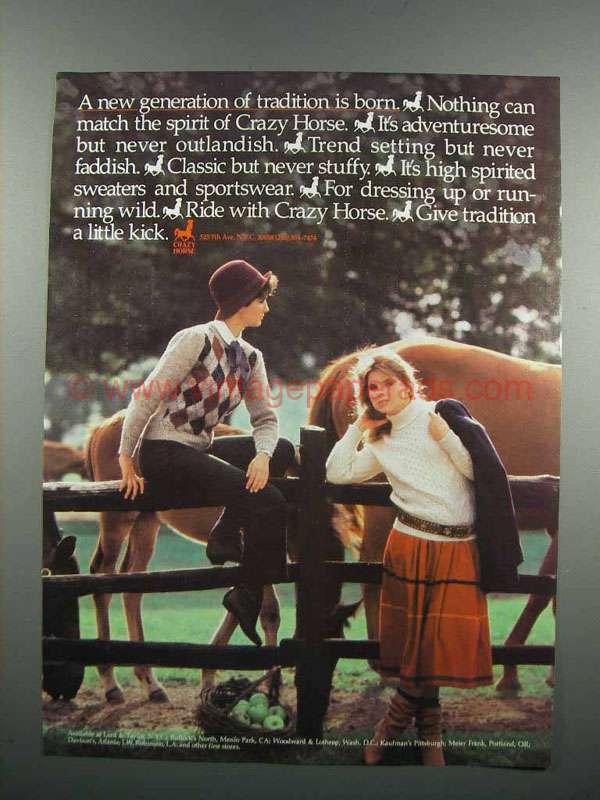 crazy horse essay