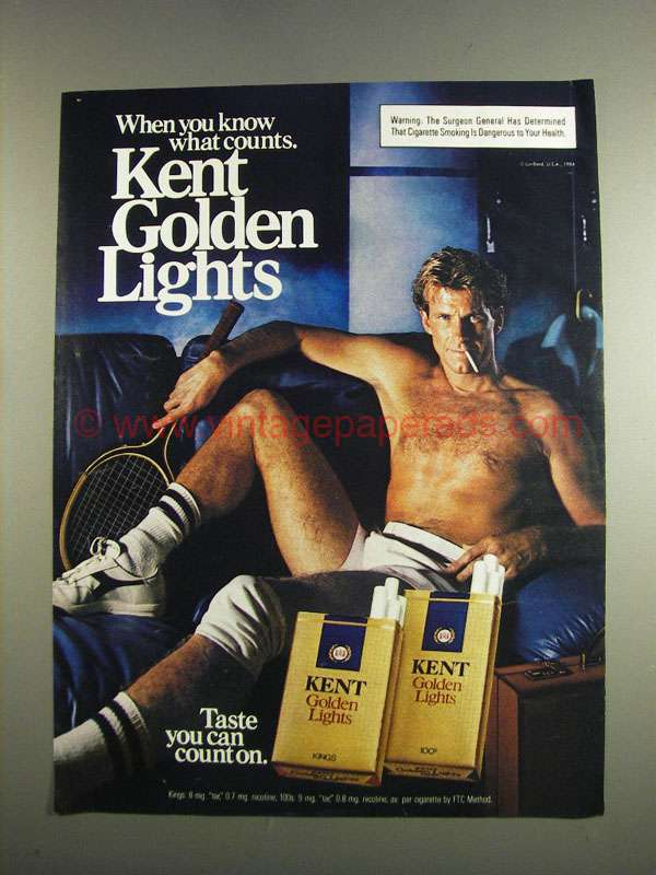Trucks That Are Good On Gas >> 1984 Kent Golden Lights Cigarettes Ad - When You Know