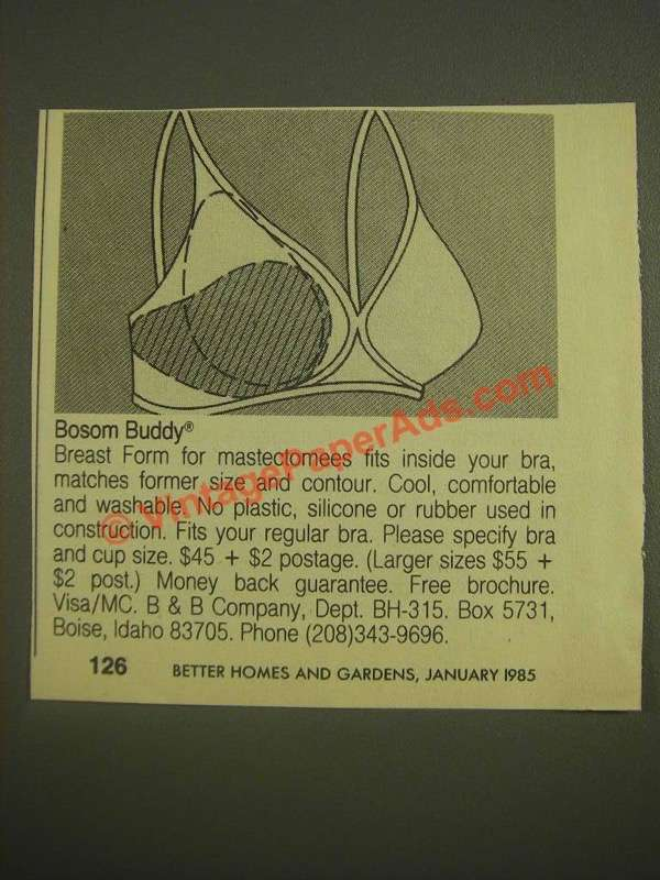 "bosom buddy breast prothesis These are the knitting and crochet instructions for our ""bosom buddies while the prosthesis is on for knitted breast prostheses in any language to."