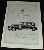 1930 Reo-Royale Eight Car Ad, NICE!!!