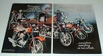 1969 Harley Davidson Full Line Motorcycle Ad, Electra!
