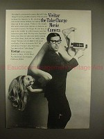 1968 Vivitar Movie Camera Ad - The take charge movie camera!