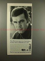 1969 Dep for Men Ad w/ Tim McCarver - Start a Rhubarb?