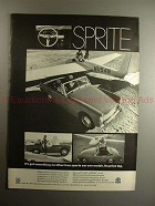 1969 Austin Sprite Ad - No Other Sports Car Can Match!!