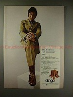1970 Dingo Boots Ad w/ Joe Namath - The Bootman, NICE!!