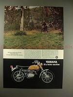 1970 Yamaha 90 Enduro HT-1 Motorcycle Ad - By Sundown!!