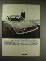 1970 Fiat 124 Sports Coupe Ad - Expect Just One Thing!