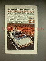 1962 Chevrolet Impala Convertible Car Ad - Favorite
