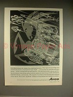 1962 Avco Ad w/ art by Artzybasheff - Harness Horses