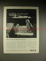 1963 NCR 315 Computer Advertisement - Why We Chose!