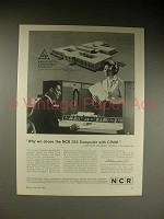 1963 NCR 315 CRAM Computer Ad - Why We Chose