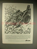 1963 Avco Ad w/ Art by Artzybasheff - Corn Pickers Too