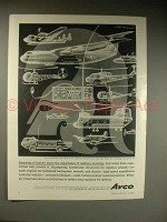 1963 Avco Ad w/ art by Artzybasheff - Military Mobility