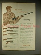 1963 Browning Automatic-5 Shotgun Ad - Admiration