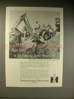 1963 International Harvester 3414 Loader Tractor Ad