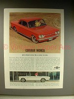 1963 Chevrolet Corvair Monza: Coupe, Convertible Ad