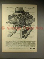 1964 Avco Ad w/ art by Artzybasheff - Gets Around!