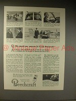 1964 Beechcraft Bonanza Plane Ad - Your Company Fly