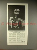 1964 Friden 6010 Electronic Computer Ad, Faster Answers