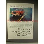 1964 Jeep Wagoneer Ad - First Really New Wagon