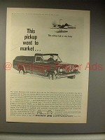 1964 Jeep Gladiator Pickup Truck Ad - Went to Market