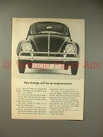1965 Volkswagen VW Bug / Beetle Ad - Any Change