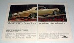 1965 Chevrolet Impala Sport Coupe Car Ad!