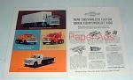1964 Chevrolet Series 80, Series 60 Truck Ad!