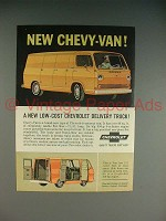 1964 Chevrolet Chevy-Van Ad - Low-Cost Delivery Truck