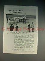1965 Aero Jet Commander Plane Ad - We Are Delivering