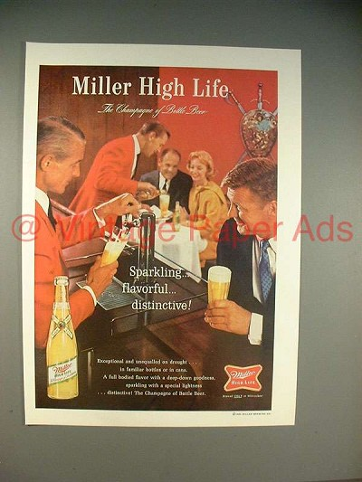 The Miller High Life One Second Ad Essay