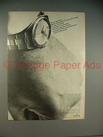 1965 Rolex Oyster Perpetual Chronometer Zephyr Watch Ad