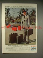 1965 American Tourister Luggage Ad w/ Bob Hope!