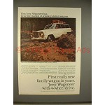 1965 Jeep Wagoneer Ad - Twice the Traction!