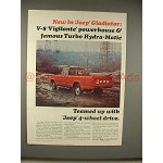 1965 Jeep Gladiator Pickup Truck Ad - Powerhouse!