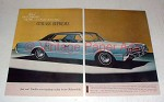 1966 Oldsmobile Cutlass Supreme Car Ad - Step Out Front