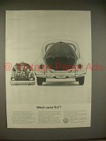1965 Volkswagen VW Bug Beetle Car Ad - Which Came First